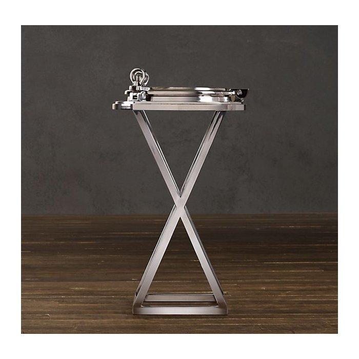 Кофейный столик Chrome