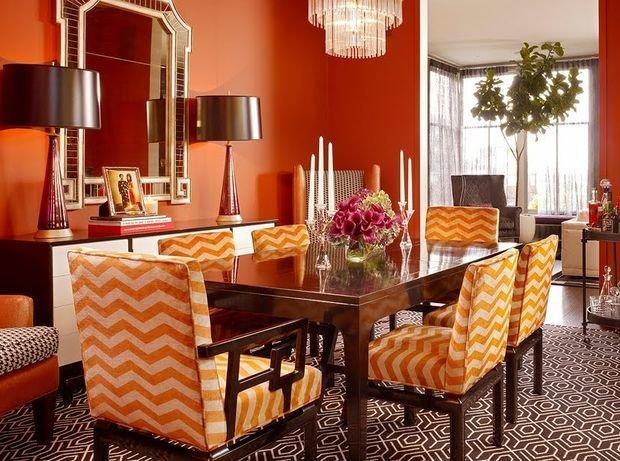 Фотография: Декор в стиле Классический, Кухня и столовая, Декор интерьера, Квартира, Дом, Оранжевый – фото на InMyRoom.ru
