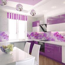 Фотография: Кухня и столовая в стиле Современный, Декор интерьера, Дизайн интерьера, Мебель и свет, Цвет в интерьере – фото на InMyRoom.ru