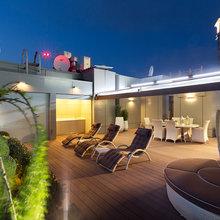 Фотография: Балкон, Терраса в стиле Современный, Классический, Квартира, Дома и квартиры, Пентхаус – фото на InMyRoom.ru