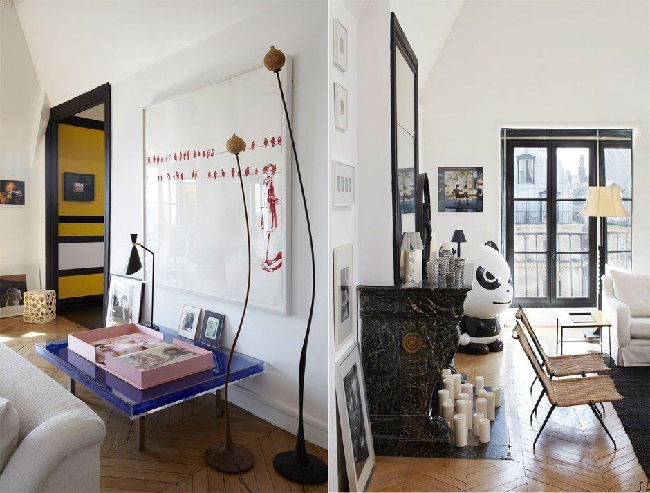 Фотография: Прочее в стиле , Декор интерьера, Квартира, Цвет в интерьере, Дома и квартиры, Черный, Париж – фото на InMyRoom.ru