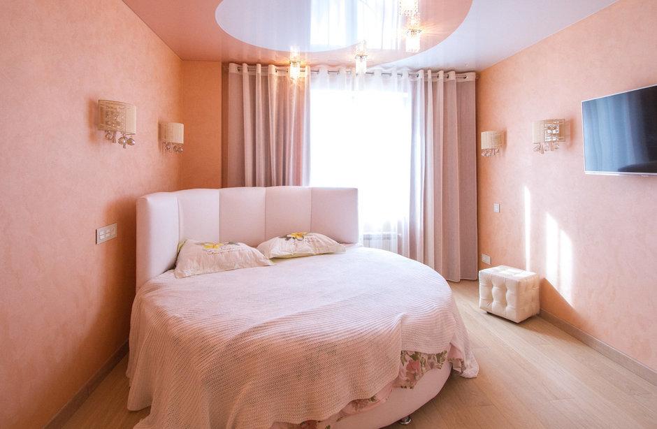 Фотография: Спальня в стиле Современный, Хай-тек, Классический, Квартира, Проект недели – фото на InMyRoom.ru