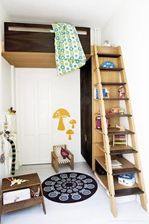 Фотография: Детская в стиле Скандинавский, Малогабаритная квартира, Квартира, Декор, Советы – фото на InMyRoom.ru