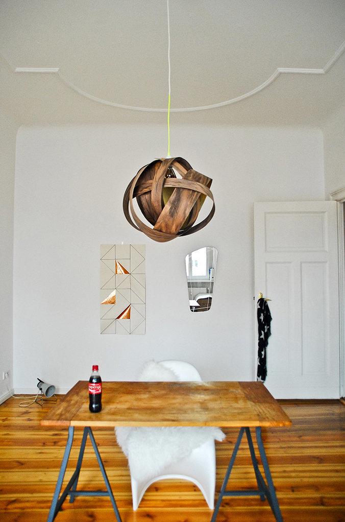 Фотография: Офис в стиле Скандинавский, Декор интерьера, DIY, IKEA, Светильник, Лампа – фото на InMyRoom.ru