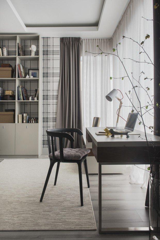 Фотография: Кабинет в стиле Современный, Квартира, Проект недели, Москва, 3 комнаты, 60-90 метров, AR-KA – фото на INMYROOM