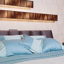 """Фото из портфолио Дизайн спальни """"Воздушный зефир""""  – фотографии дизайна интерьеров на InMyRoom.ru"""