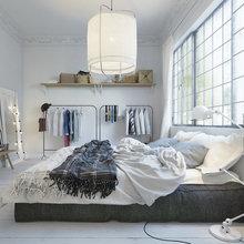 Фото из портфолио Спальня в скандинавском стиле – фотографии дизайна интерьеров на INMYROOM