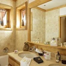 Фотография: Ванная в стиле Кантри, Дом, Дома и квартиры, Дом на природе – фото на InMyRoom.ru