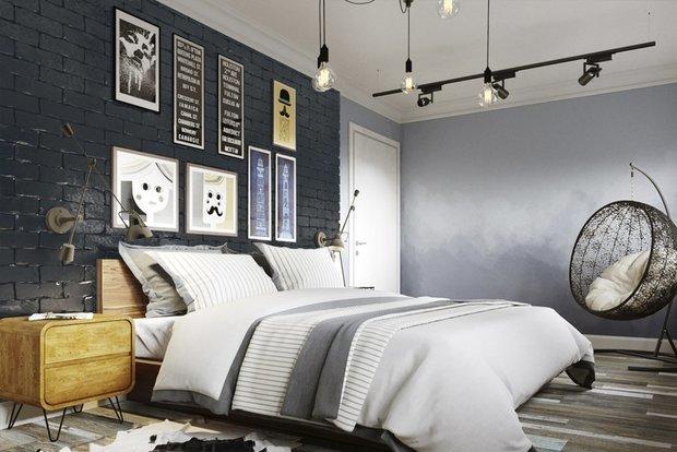 Фотография: Спальня в стиле Лофт, Советы, Ремонт на практике, Saint Gobain – фото на InMyRoom.ru