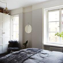 Фотография: Спальня в стиле Скандинавский, Декор интерьера, Малогабаритная квартира, Квартира, Мебель и свет – фото на InMyRoom.ru