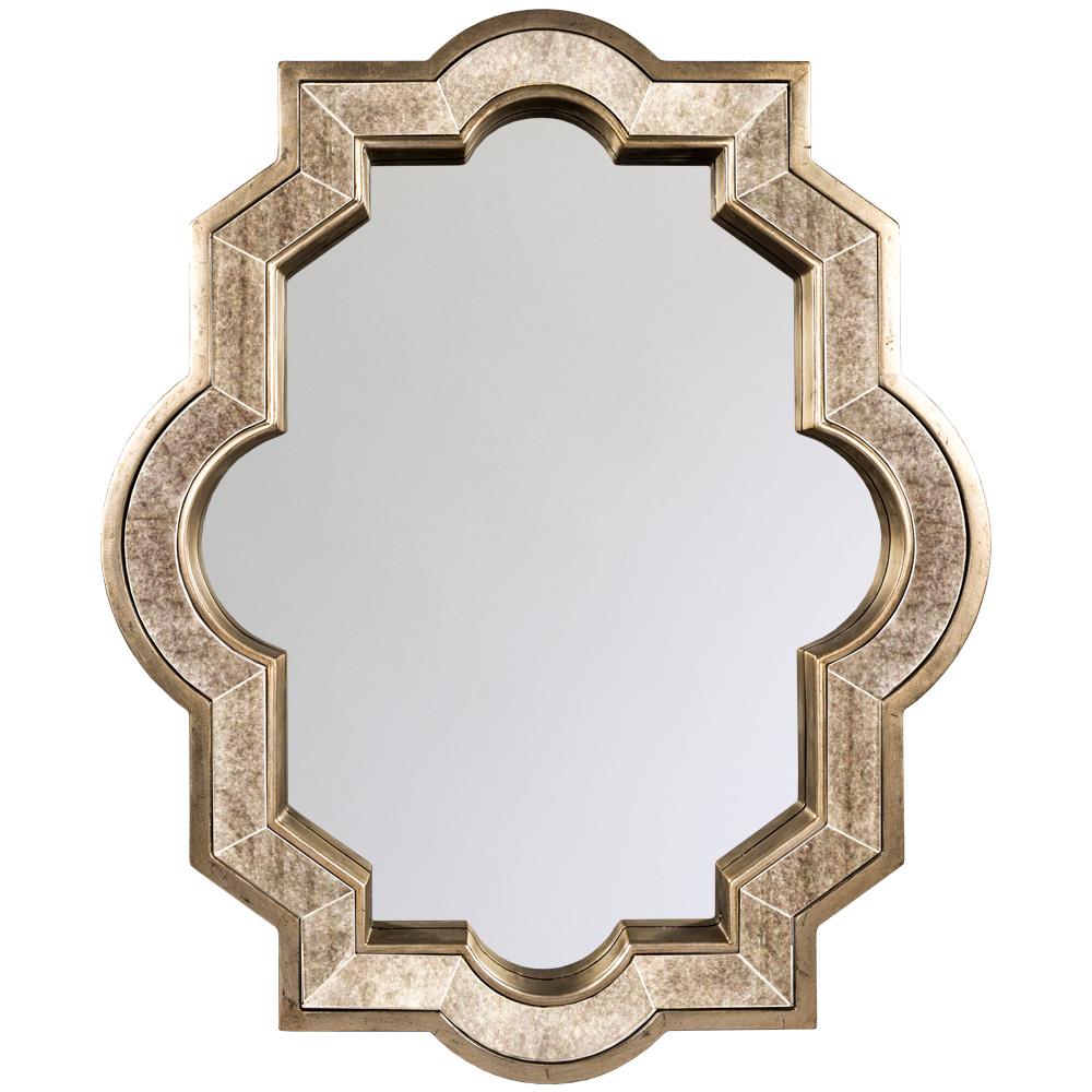Купить Настенное зеркало каньон с глубокой орнаментальной рамой, inmyroom, Россия