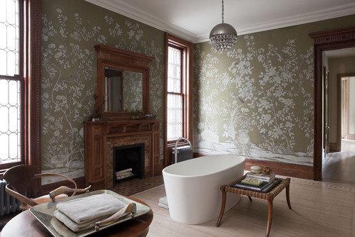 Фотография: Ванная в стиле Восточный, Эклектика, Декор интерьера, Интерьер комнат, Викторианский – фото на InMyRoom.ru