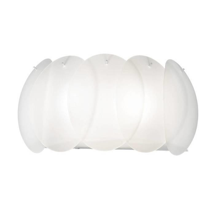 Настенный светильник Ideal Lux Ovalino AP2 BIanco