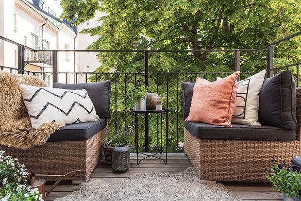 Фотография: Балкон в стиле Скандинавский, Декор интерьера, Швеция, Бежевый – фото на INMYROOM