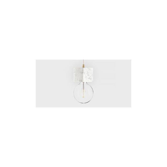 Подвесной светильник Marmor Veldi bianco, Белый