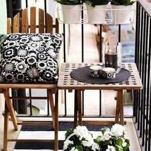 Фотография: Балкон в стиле Кантри, Современный, Ландшафт, Декор, Терраса, Советы, Мария Шумская, Есения Семипядная, элегантный городской балкон, винтажные вещи на балконе, восточный декор для балкона, балкон в средиземноморском стиле, ландшафтный дизайн для балкона, горизонтальное озеленение, хвойные растения на балконе – фото на InMyRoom.ru