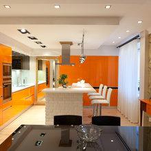 Фото из портфолио Двухуровневая квартира в стиле Лофт – фотографии дизайна интерьеров на InMyRoom.ru