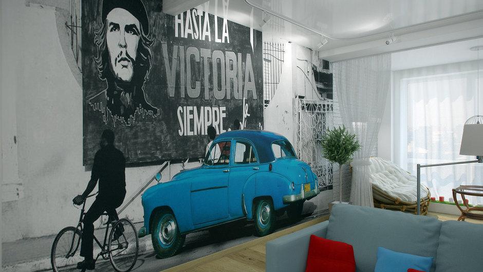 Фотография: Декор в стиле Современный, Декор интерьера, Квартира, Цвет в интерьере, Дома и квартиры, Проект недели, Стены – фото на InMyRoom.ru
