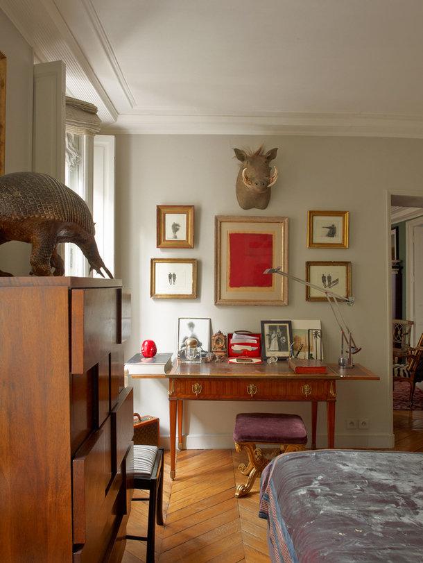 Фотография: Спальня в стиле Эклектика, Декор интерьера, Антиквариат, Праздник, Новый Год – фото на InMyRoom.ru