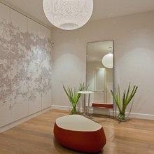 Фотография: Ванная в стиле Минимализм, Квартира, Дома и квартиры, Большие окна – фото на InMyRoom.ru