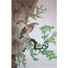 """Дизайнерская картина на холсте: """"Хищные птицы"""""""