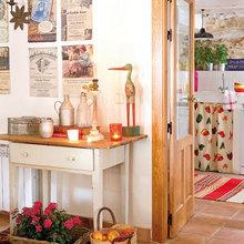 Фотография: Декор в стиле Кантри, Декор интерьера, Дом, Аксессуары, Красный – фото на InMyRoom.ru