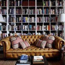 Фотография: Гостиная в стиле Кантри, Декор интерьера, Декор дома, Библиотека – фото на InMyRoom.ru