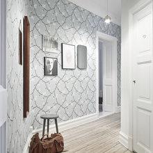 Фотография: Прихожая в стиле Скандинавский, Малогабаритная квартира, Квартира, Декор, Мебель и свет, Белый – фото на InMyRoom.ru