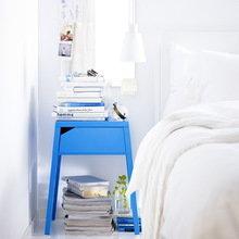Фотография: Спальня в стиле Скандинавский, Индустрия, Новости, IKEA, Ткани, Кресло, Ваза, Стулья, Постеры, Принты, Плетеная мебель – фото на InMyRoom.ru