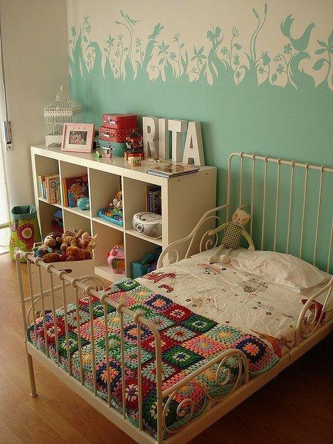 Фотография: Детская в стиле Прованс и Кантри, Декор интерьера, Интерьер комнат, Обои – фото на InMyRoom.ru