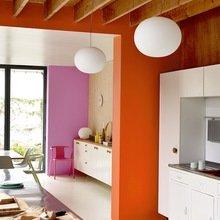 Фотография: Кухня и столовая в стиле Современный, Декор интерьера, Дизайн интерьера, Цвет в интерьере, Dulux, Оранжевый, ColourFutures – фото на InMyRoom.ru