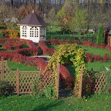 Фото из портфолио Оригинальные деревянные изделия для сада – фотографии дизайна интерьеров на INMYROOM