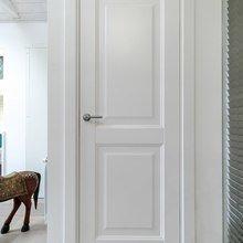 Фотография:  в стиле Современный, Интерьер комнат, Дача, Дачный ответ, Мансарда – фото на InMyRoom.ru