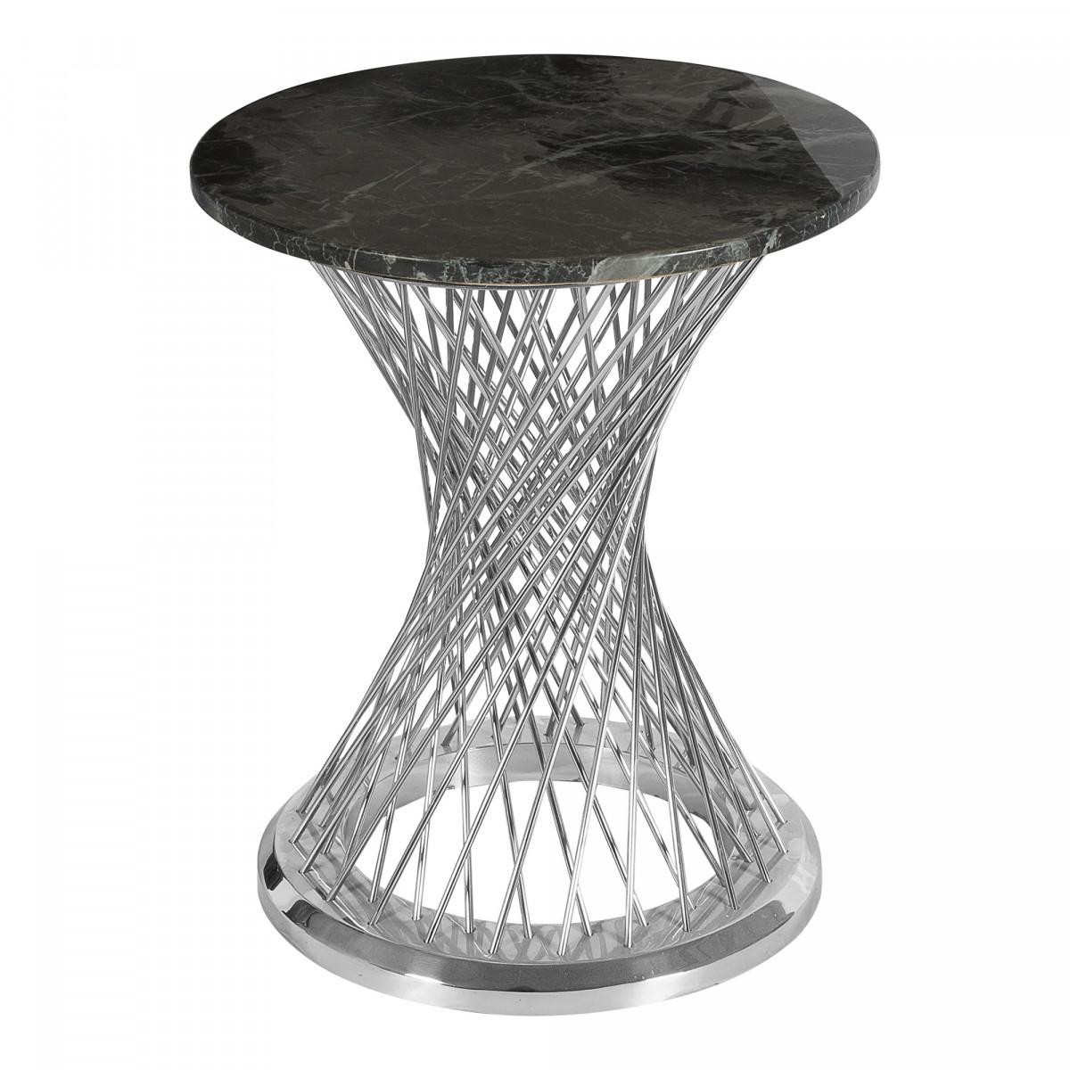 Приставной столик со столешницей из искусственного мрамора
