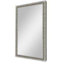 """Зеркало в серебряной широкой раме """"Верона"""""""
