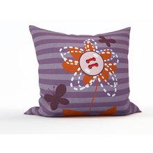 Декоративная подушка: Рыжий цветок