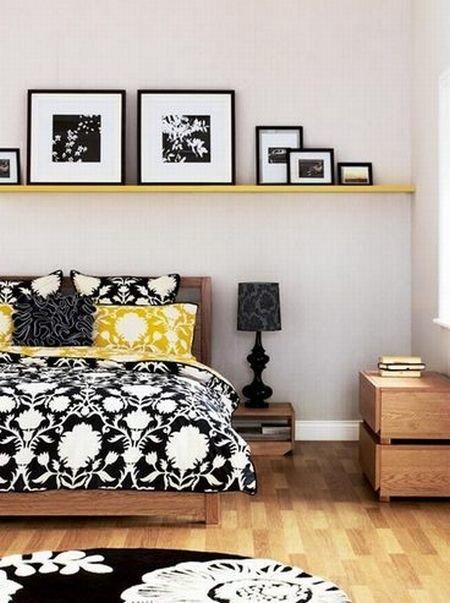 Фотография: Спальня в стиле Современный, Интерьер комнат, Подушки, Ковер – фото на InMyRoom.ru