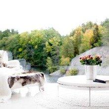 Фотография: Гостиная в стиле Скандинавский, Дом, Цвет в интерьере, Дома и квартиры, Белый – фото на InMyRoom.ru