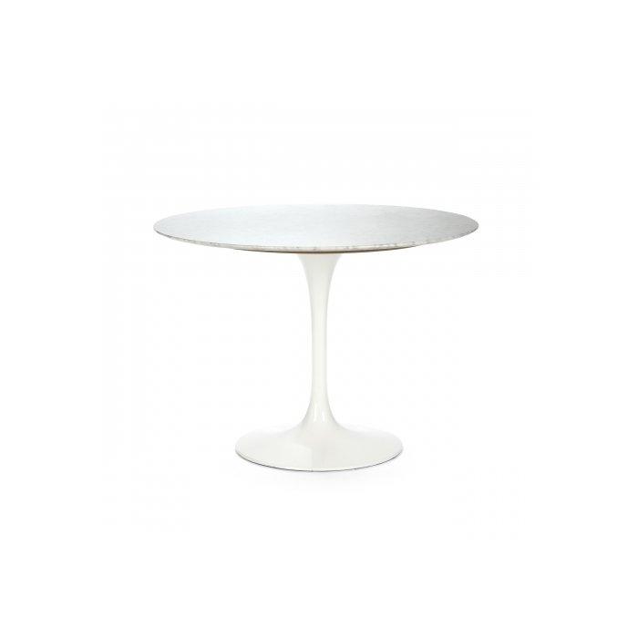 Круглый обеденный стол Tulip с мраморной столешницей