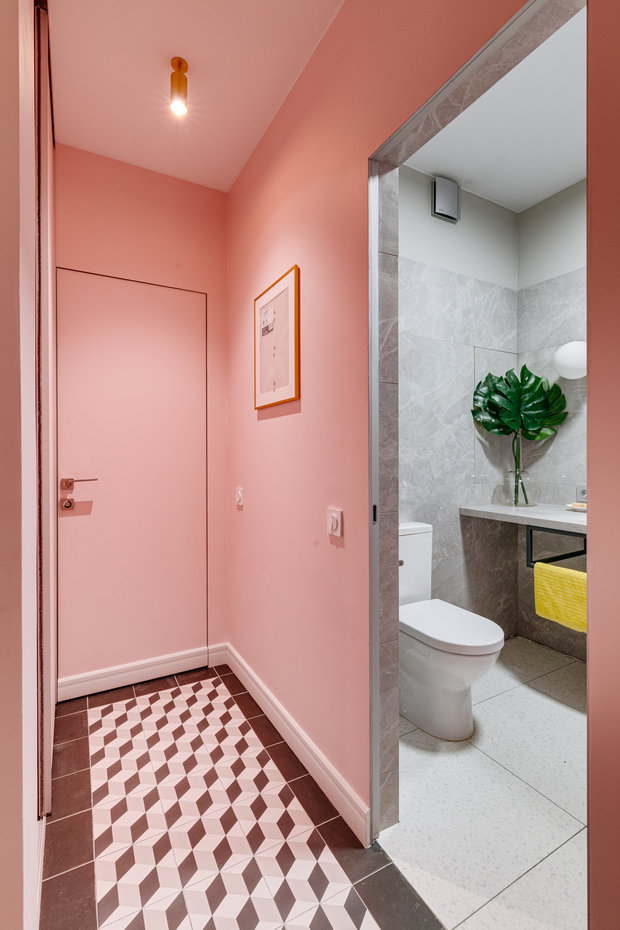 Фотография: Ванная в стиле Современный, Квартира, Проект недели, Видное, 3 комнаты, 60-90 метров, Дмитрий Удовицкий – фото на INMYROOM