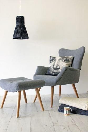 Фотография: Мебель и свет в стиле Лофт, Современный, Спальня, Интерьер комнат – фото на InMyRoom.ru
