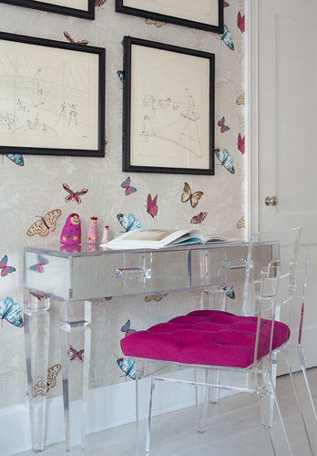 Фотография: Детская в стиле Эклектика, Классический, Квартира, Дома и квартиры, Ар-деко – фото на INMYROOM