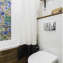Фотография: Ванная в стиле Скандинавский, Советы, Гид, хранение вещей – фото на InMyRoom.ru