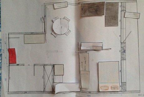 Подскажите, какие варианты размещения мебели могут быть?