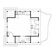 Фотография: Планировки в стиле , Дом, Дома и квартиры, Городские места, Дача – фото на InMyRoom.ru