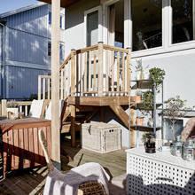 Фото из портфолио Уютный внутренний дворик – фотографии дизайна интерьеров на INMYROOM