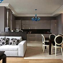 Фотография: Кухня и столовая в стиле Эклектика, Квартира, Дома и квартиры, Проект недели, Москва – фото на InMyRoom.ru