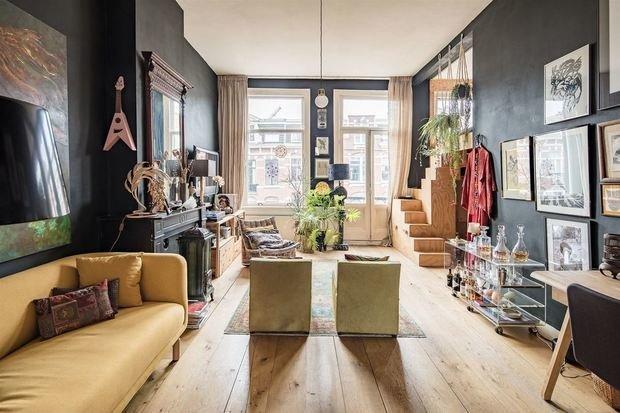 Фотография: Гостиная в стиле Лофт, Скандинавский, Декор интерьера, Советы – фото на INMYROOM