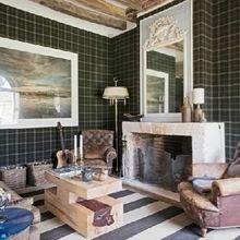 Фотография: Гостиная в стиле Кантри, Декор интерьера, Декор дома, Прованс, Пол – фото на InMyRoom.ru
