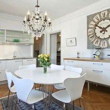 Фотография: Кухня и столовая в стиле Кантри, Цвет в интерьере, Стиль жизни, Советы, Белый – фото на InMyRoom.ru